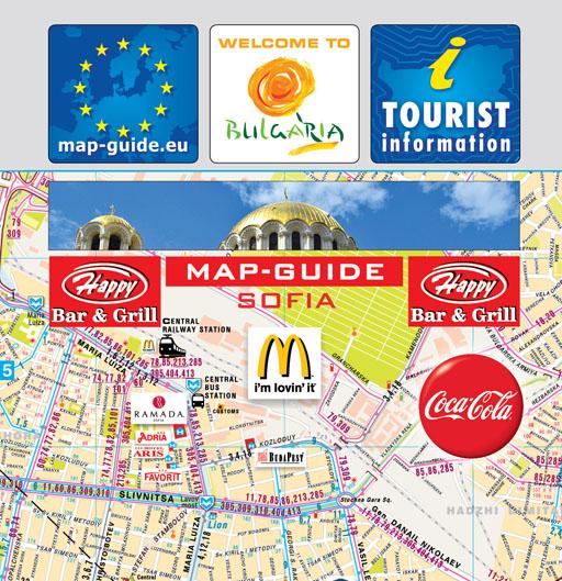 MaktainfoWelcome MapsBulgaria Map of Sofia Plovdiv Varna